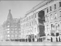Дом Энгельгардта (Невский проспект, дом 30), разрушенный попаданием авиабомбы. 1941 год