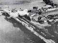 Вид с воздуха на порт Осиновец, 1941 год