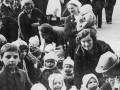 Эвакуация детей из Ленинграда. Фото В. Тарасевича. 29 июня 1941