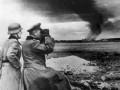 Командующий 1-й танковой дивизией вермахта, генерал Крюгер в окрестностях Ленинграда, 1941 г