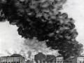 Пожар уничтожает Бадаевский склад