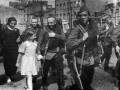 Проводы бойцов народного ополчения. Фото А. Михайлова. 10 июля 1941.