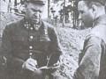 Командующий Ленинградским фронтом генерал армии Г.К. Жуков в самые тяжелые дни обороны города. Район Ленинграда, сентябрь 1941 года