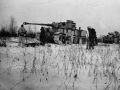 Танк «Тигр» T-VI (№100) под Ленинградом