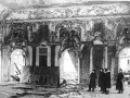 Представители Чрезвычайной Государственной Комиссии осматривают разрушения Большого зала Екатерининского дворца (город Пушкин, 1944 г.)