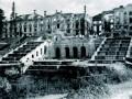 Разрушенный Большой Екатерининский дворец в Петергофе, 1944 год