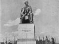 Памятник Н. Г. Чернышевскому на Московском проспекте, 1947 год
