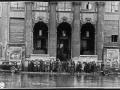 Кинотеатр «Родина», восстановленный и открытый в 1944 г., Караванная ул., 12/Фонтанки наб., 15