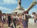 Вступление в пионеры на крейсере I ранга «Аврора», 1975 год