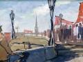 Ленинград. Первомайская демонстрация. 1950-е годы.  А. Н. Самохвалов, гуашь
