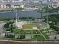 Стадион имени С.М. Кирова, вид с воздуха
