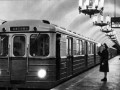 Подземный зал станции «Нарвская», открытие движения поездов Ленинградского метрополитена