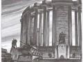 А. В. Васильев. Проект монумента в честь прорыва блокады Ленинграда. 1943