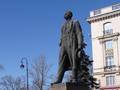 Памятник Максиму Горькому у метро «Горьковская», Санкт-Петербург