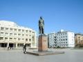 Памятник Ф. Э. Дзержинскому (фото моё)