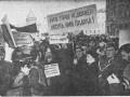 Митинг перед Мариинским дворцом за возвращение городу исторического имени
