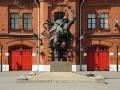 Памятник подвигу пожарных блокадного Ленинграда