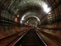 Тоннель метрополитена на перегоне между станциями метро «Чкаловская» и «Спортивная». Фотография с сайта metro.vpeterburge.ru