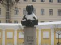 Памятник Гёте (скульптор Л. К. Лазарев, архитектор Е. Е. Лазарева)