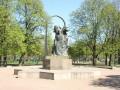 Открыт памятник поэту Низами Гянджеви