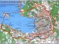 Схема развития внутригородских магистралей С-Петербурга, Карта ФГУП «Аэрогеодезия», 2002 г