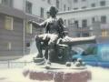 Открыт памятник канониру Василию