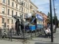Памятник петербургской конке