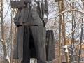 Памятник Ленину в Пушкине после взрыва, 2010 год