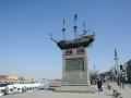 Памятный знак первому линейному кораблю «Полтава»