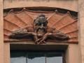 С фасада доходного дома А. Л. Лишневского сбита фигура демона