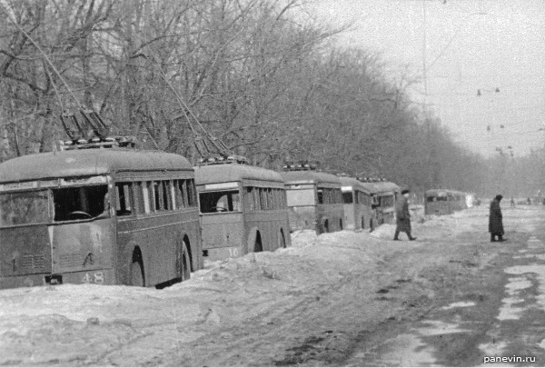 Вновь пущены троллейбусы по улицам города