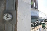 Часы на крыше Исаакиевского собора