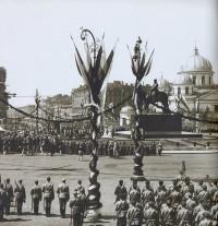Церемония открытия памятника Александру III на Знаменской площади. 1909 год