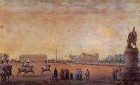 Парад на Марсовом поле, гравюра Беньямина Петерсона, 1807 г.