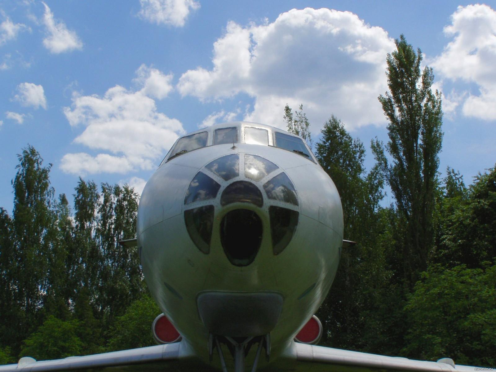фотографии ту-134