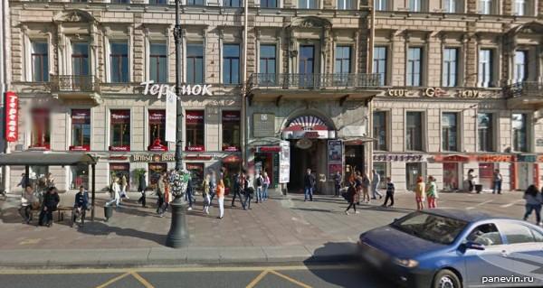 Cafe Teremok, Nevsky 60